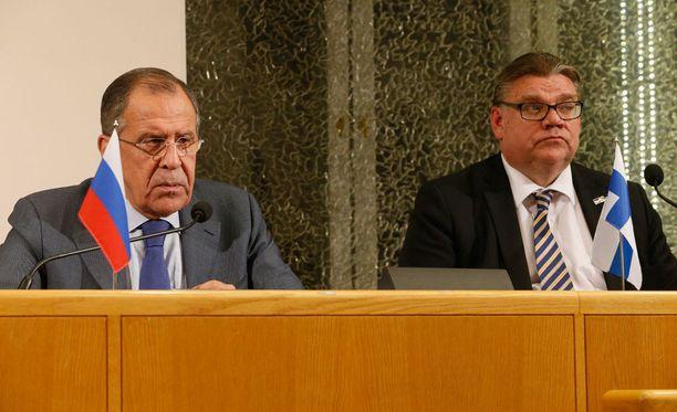 Venäjän ulkoministeri Sergei Lavrov kritisoi Yhdysvaltojen toimintaa Syyriassa.