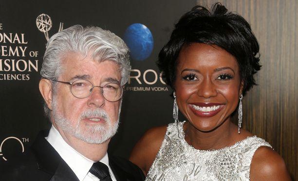 George Lucas, 69, avioitui Mellody Hobsonin, 44, kanssa kesäkuussa.