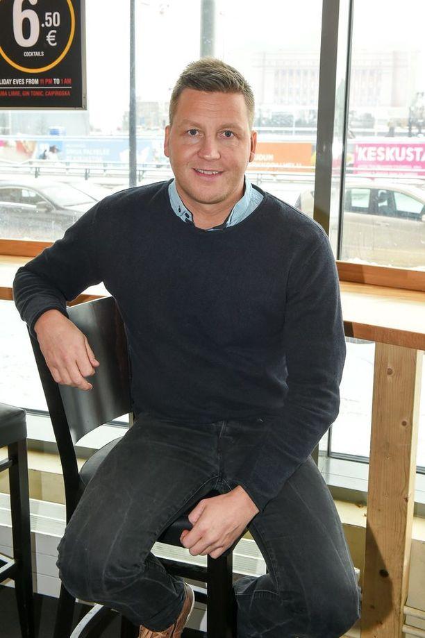 Jani Sievinen on viiden lapsen isä.