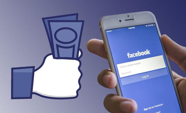 Facebook-käyttäjätietoja vaihdetaan rahaan.