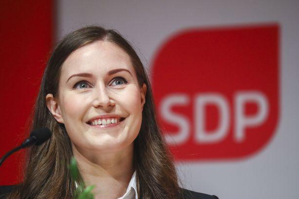 Sanna Marinin johtama SDP haluaa panostaa muun muassa lasten ja nuorten hyvinvointiin.