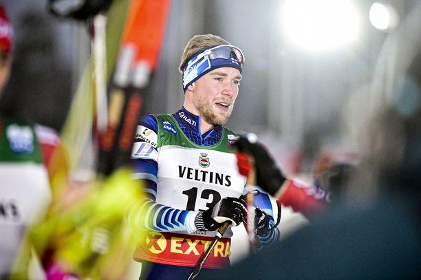 Joni Mäki oli kahdestoista sunnuntaina Rukan maailmancupissa.