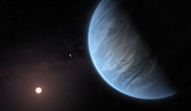 K2-18B sijaitsee 111 valovuoden päässä Maasta.