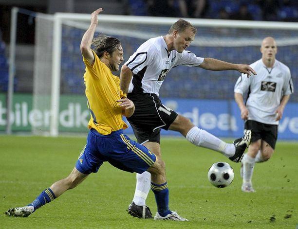 Hakan Valeri Popovitsh pelasi Brøndbyä vastaan Uefa-cupissa 2008.