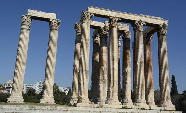 Ateenassa riittää nähtävää.