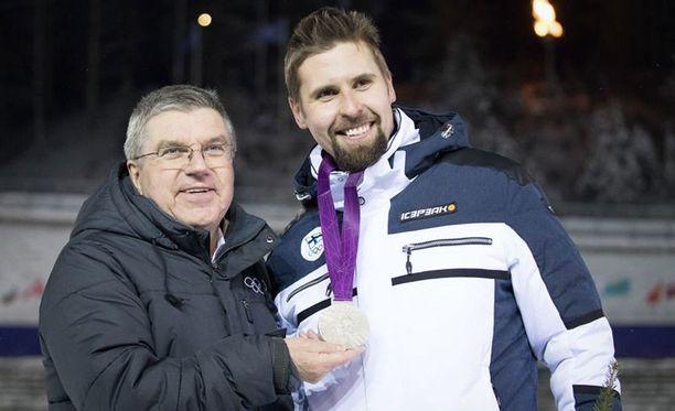Antti Ruuskanen pokkasi olympiahopeaa hiihdon MM-kisoissa.