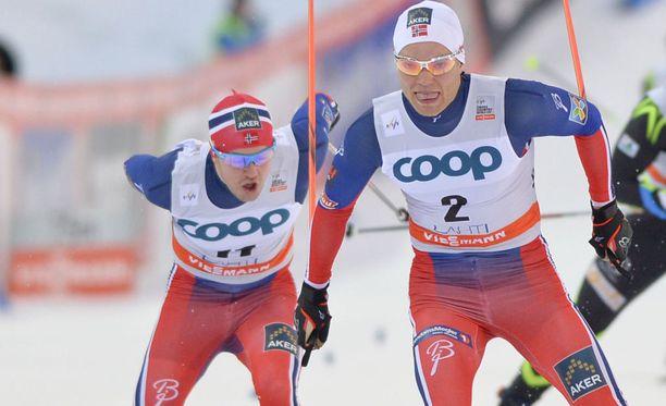 Eirik Brandsdal (2) voitti Drammenin maailmancup-sprintin kolmannen kerran urallaan.