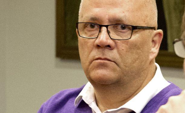 Nokia Mission entinen johtaja Markku Koivisto. Kuva Pirkanmaan käräjäoikeudesta, missä Koivisto tuomittiin vuonna 2013 seksuaalisesta hyväksikäytöstä.
