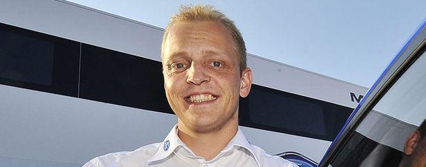 Mikko Hirvonen viihtyy Citroënillä.