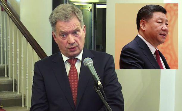 Niinistö on ennakkoon kertonut keskustelevansa valtiovieraan kanssa muun muassa ilmastoasioista.