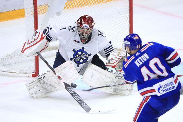 Jevgeni Ketov ja SKA ovat vahvassa tuloskunnossa.