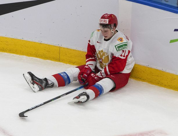 Venäjän Zakhar Bardakovin katse oli tyhjä hävityn pronssipelin jälkeen.