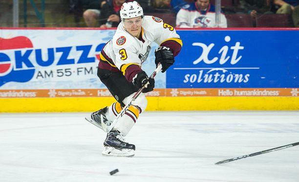 Teemu Pulkkinen on pelannut AHL:ssä 214 runkosarjapeliä ja tehnyt tehot 96+95=191.
