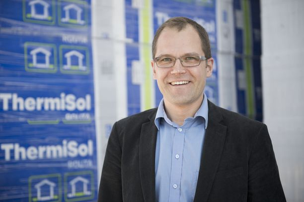 ThermiSol Oy:n toimitusjohtaja Veli Ollila.