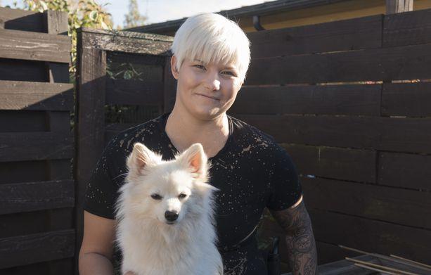 Nox-koira on Heidi Foxellin arkipäivien piristys.