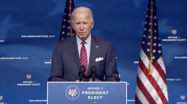 Joe Biden kritisoi rajusti presidentti Donald Trumpia.