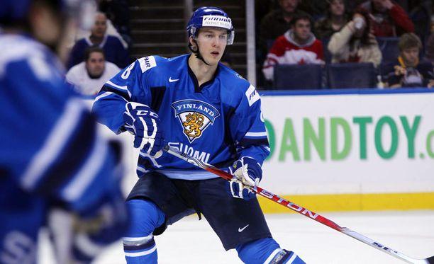 Rasmus Rissanen on edustanut Suomea nuorten maajoukkuetasolla.