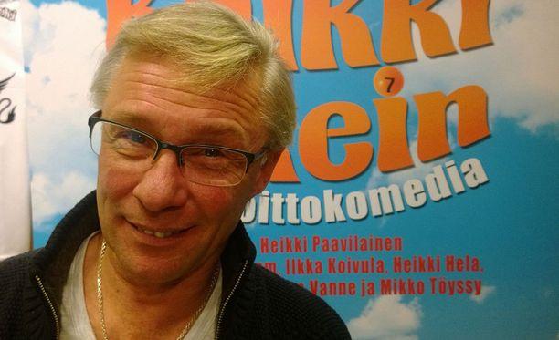 Heikki Paavilainen häärää ensi kesänä kahden suuren kesäteatteriproduktion parissa.