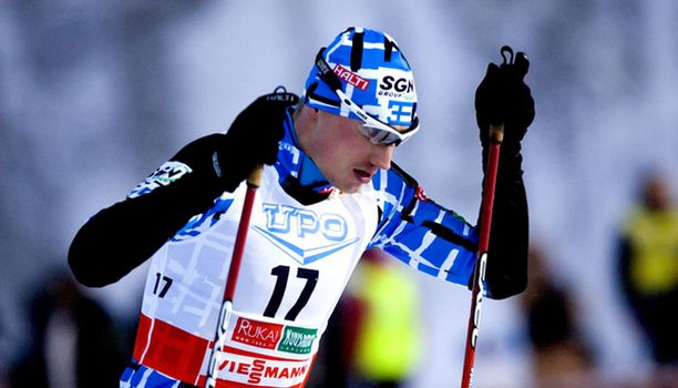 Hannu Manninen oli tyytyväinen toiseen sijaansa.
