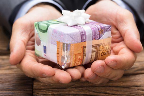 Rahalahjan voi käyttää kuten itse haluaa, siksi se on suosittu toive.