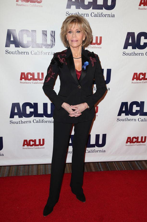 Jane Fonda täytti tänään torstaina 80 vuotta.