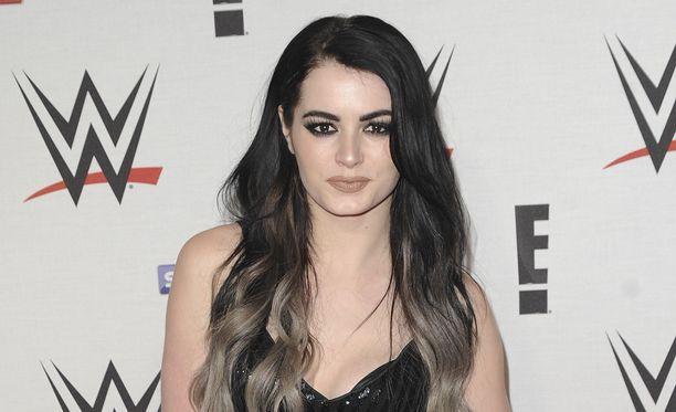 Saraya Jade Bevis kuuluu WWE-organisaation tähtiin.