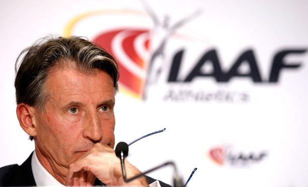 Sebastian Coen luotsaama IAAF on ottanut tiukan linjan Venäjää vastaan.