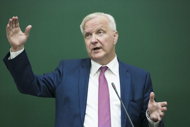 Suomen Pankin pääjohtaja Olli Rehnin nimi on noussut esiin Euroopan keskuspankin pääjohtaja-spekulaatioissa.