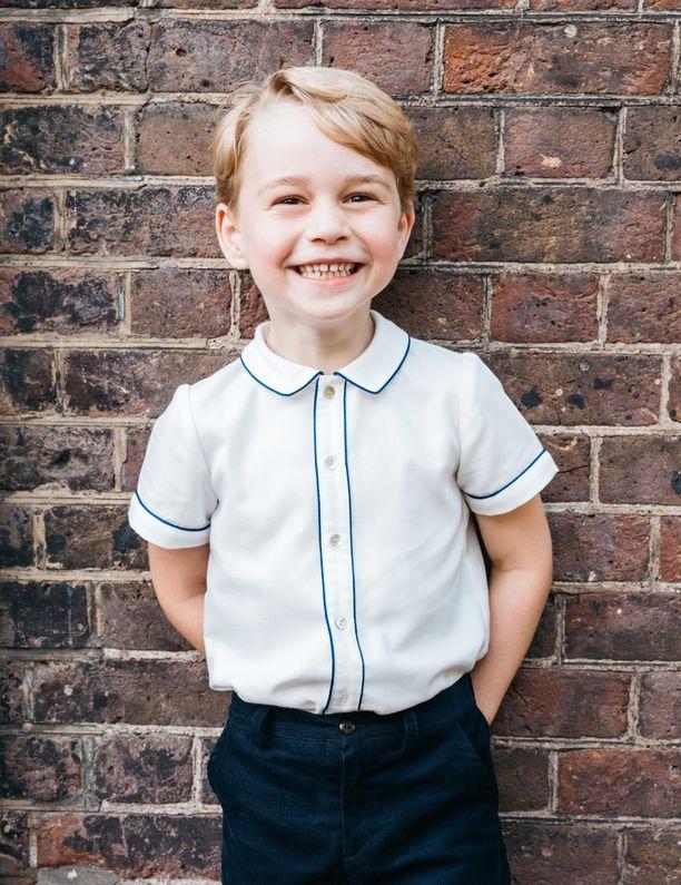 Prinssi George sai koulukavereilta hauskan kutsumanimen.
