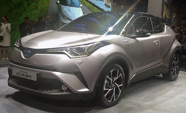 Toyota C-HR tulee Suomeen syksyllä.