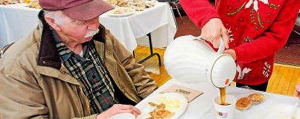 """Ronald Readin tiettävästi ainoa """"ylellinen"""" tapa oli nauttia aamupala kodin ulkopuolella."""