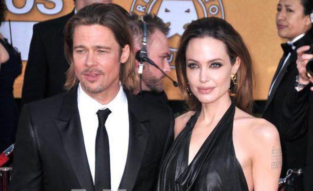 Brad Pitt ja Angelina Jolie erosivat vuonna 2016.