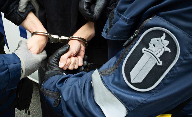 Epäilty on tänään 14. syyskuuta vangittu. Kuvituskuva.