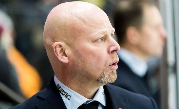 Marko Virtasen JYPillä on mietinnän paikka.