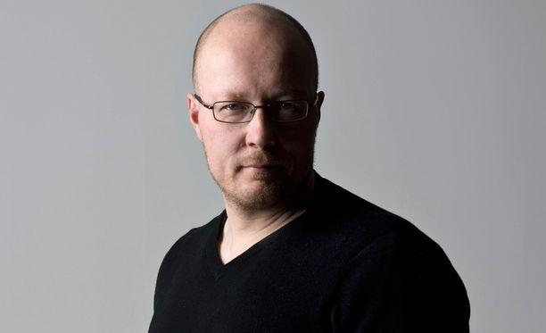 Uutispäällikkö Juha Ristamäki.