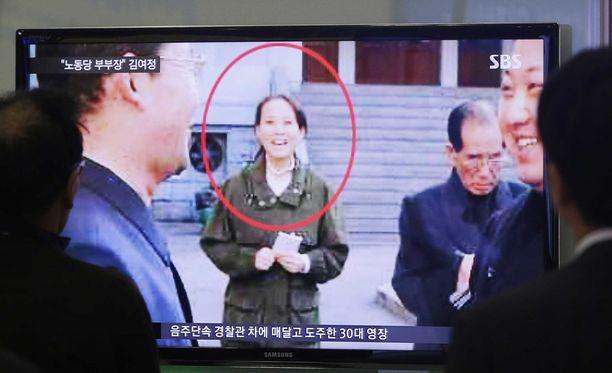 Diktaattorin pikkusiskoa on alkanut näkyä myös maan televisiossa.