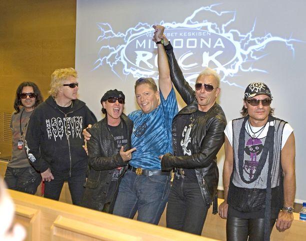 Keskinen järjesti Miljoona Rockin ensimmäistä kertaa vuonna 2004.