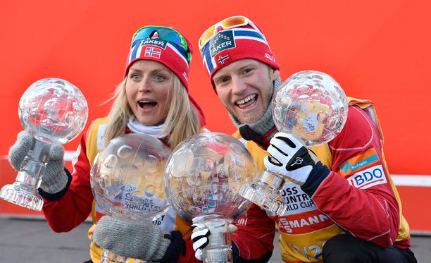 Therese Johaug ja Martin Johnsrud Sundby ovat vuorovedoin olleet dopingmyrskyn silmässä.