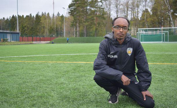 KäPan valmentaja Abdi Abdirahman Mohamed sanoo, että Suomessa puhutaan liian vähän voittamisesta.