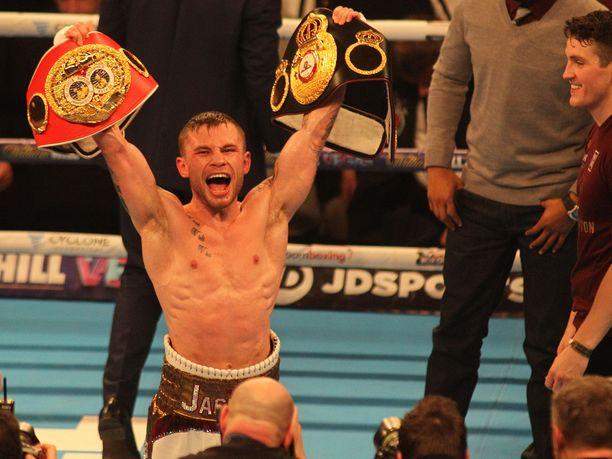 Carl Frampton kannatteli vuonna 2016 IBF- ja WBA-liittojen maailmanmestaruusvöitä.