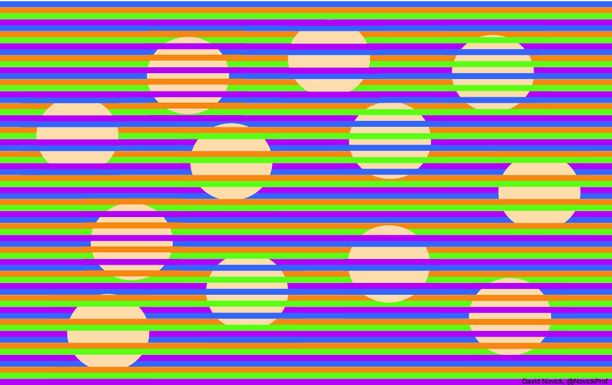 Tältä illuusio näyttää.
