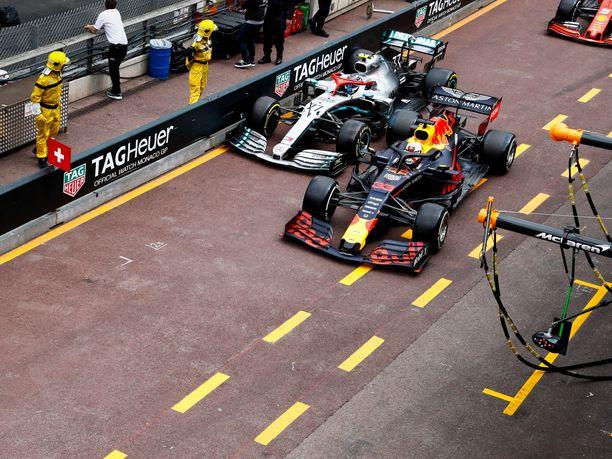Tämä tilanne varikkosuoralla vei Valtteri Bottakselta kakkossijan Monacossa.
