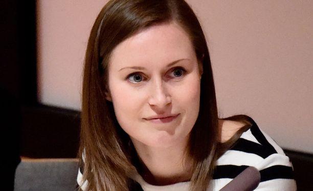 SDP:n Sanna Marin on lakivaliokunnan jäsen.