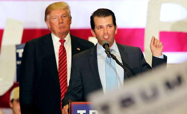 Trump Jr. uskoi saavansa tapaamisessa vastustaja Hillary Clintonia vahingoittavaa tietoa.