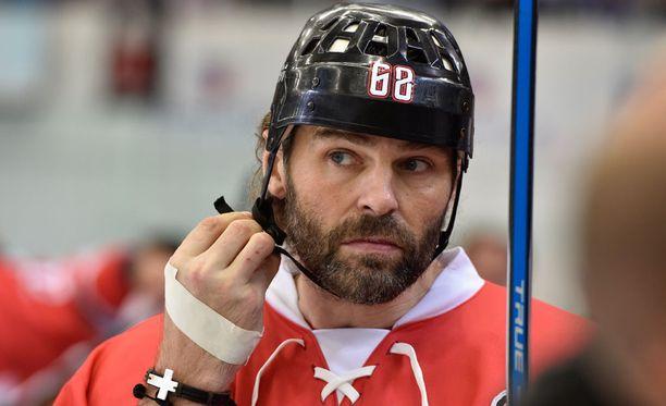 Jaromir Jagr haluaa pelata yhä NHL:ssä.