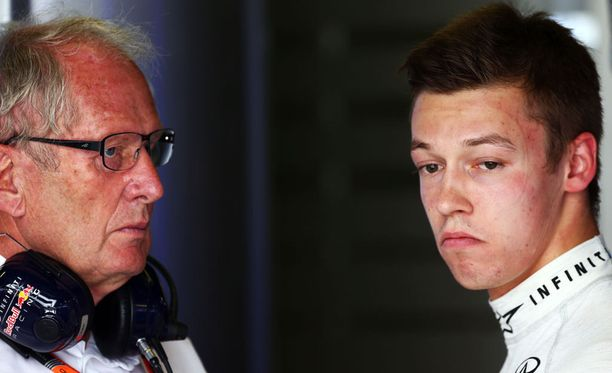 Helmut Marko ja Red Bull olivat nostamassa Daniil Kvyatia F1-sarjaan.