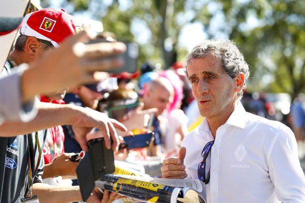 Renaultin neuvonantajana toimiva Alain Prost povaa Ferrarille menestyksekästä kautta.