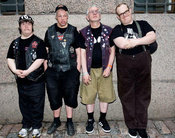 Punk-bändi Pertti Kurikan Nimipäivät oli Iltalehden lukijoiden ylivoimainen suosikki.