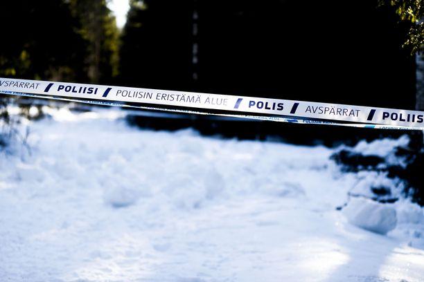 Ruumis löytyi Parkanon aseman läheisestä metsiköstä.