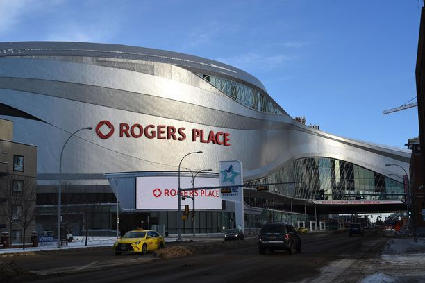 Edmontonin kaupungin omistama Rogers Place valmistui vuonna 2016.